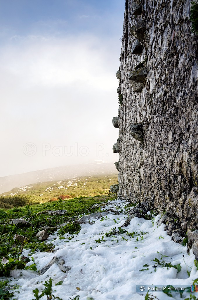 Neve na Serra de Montejunto
