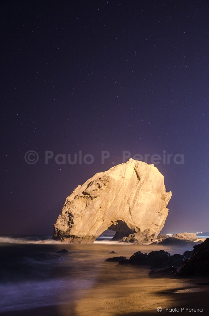 Penedo do Guincho at Night
