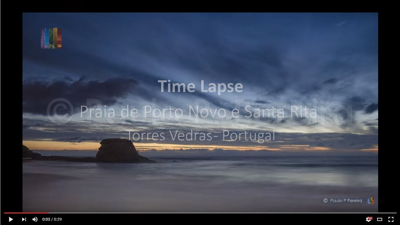 Time Lapse – Clouds and Sea