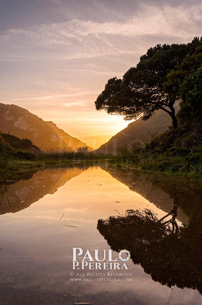 Glistening Sunset – Rio Alcabrichel