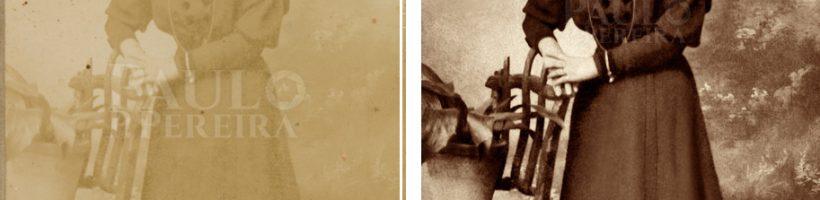 Restauro de fotografias antigas, restaurar fotos, reparar fotos, recuperar fotos - Paulo P. Pereira