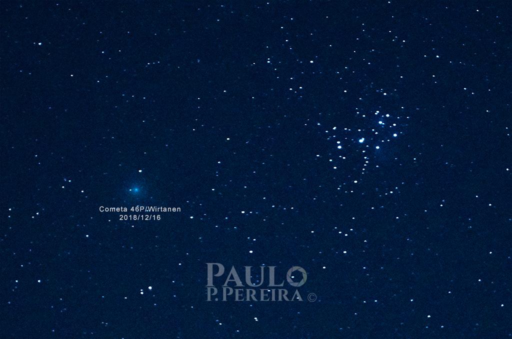 Comet 46P - Wirtanen